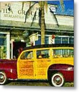 1948 Ford Woody Station Wagon Metal Print