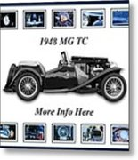 1948 Mg Tc Metal Print