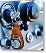 1948 Mg Tc Key Ring Metal Print