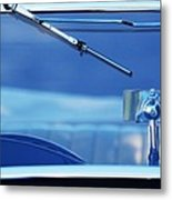 1948 Mg Tc Rear View Mirror Metal Print