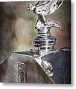 1948 Rolls-royce Hood Ornament - Emblem Metal Print
