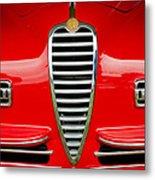 1949 Alfa Romeo 6c 2500 Ss Pininfarina Cabriolet Grille Metal Print