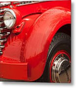 1949 Diamond T Truck Front End Metal Print