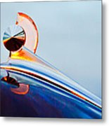 1949 Ford Hood Ornament 2 Metal Print