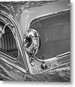 1949 Mercury Club Coupe Bw   Metal Print