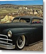 1949 Plymouth Low Rider Metal Print