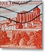 1949 Republique Francaise Stamp Metal Print