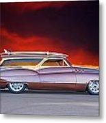 1950 Buick Woody Wagon X Metal Print