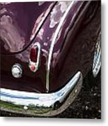 1950 Chevrolet Taillight And Bumper Metal Print