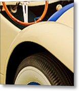 1950 Eddie Rochester Anderson Emil Diedt Roadster Steering Wheel Metal Print