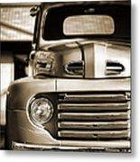 1950 Ford F-100 Metal Print
