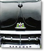 1950 Lincoln Cosmopolitan Henney Limousine Grille Emblem - Hood Ornament Metal Print