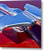 1950 Nash Hood Ornament Metal Print