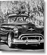 1950 Oldsmobile 88 -105bw Metal Print
