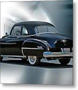 1950 Oldsmobile 88 Deluxe Club Coupe II Metal Print