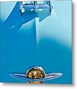 1950 Oldsmobile Hood Ornament Metal Print by Jill Reger