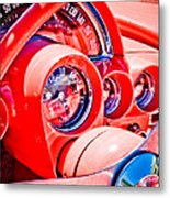 1950s Corvette Metal Print by Phil 'motography' Clark