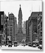 1950s Downtown Philadelphia Pa Usa Metal Print