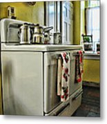 1950's Kitchen Stove Metal Print
