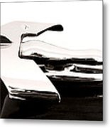 1950s Nash Hood Ornament Metal Print