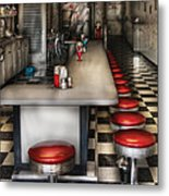 1950's - The Ice Cream Parlor  Metal Print