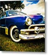 1951 Ford Custom Metal Print