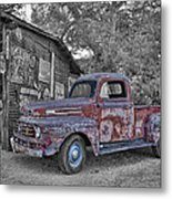 1951 Ford F-1 Metal Print by Robert Jensen