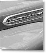 1951 Ford F1 Pickup Truck Bw Metal Print