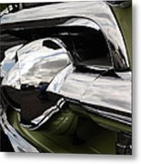 Old Car Grille Metal Print