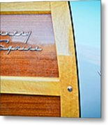1951 Ford Woodie Country Squire Emblem Metal Print