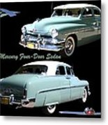 1951 Mercury Come And Going Metal Print by Jack Pumphrey