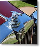 1951 Mg Hood Ornament Metal Print