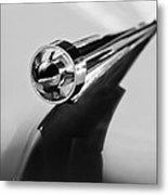 1951 Studebaker Pickup Truck Hood Ornament 2 Metal Print