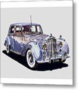 1952 Bentley M K Four Metal Print