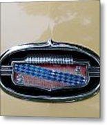 1952 Buick Eight Emblem Metal Print