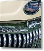 1952 Buick Eight Grill Metal Print