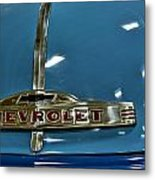 1952 Chevrolet Pickup Hood Metal Print