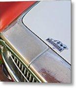 1952 Cunningham C-3 Vignale Cabriolet Grille - Hood Emblem Metal Print
