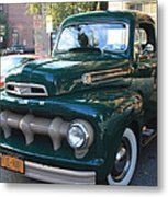1952  Ford Pick Up Truck Front And Side View Metal Print