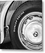 1952 Frazer-nash Le Mans Replica Mkii Competition Model Tire Emblem Metal Print