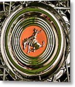 1952 Sterling Gladwin Maverick Sportster Wheel Emblem - 1720c Metal Print