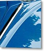1952 Volkswagen Vw Bug Hood Emblem Metal Print
