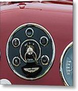 1953 Aston Martin Db2-4 Bertone Roadster Instrument Panel Metal Print