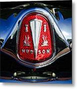 1953 Hudson Hornet Sedan Emblem Metal Print