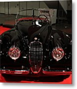 1953 Jaguar Xk 120 Se Roadster - 5d19930 Metal Print by Wingsdomain Art and Photography