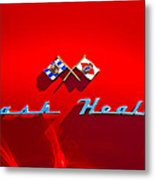 1953 Nash-healey Roadster Emblem Metal Print