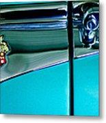 1953 Packard Caribbean Convertible Emblem 4 Metal Print