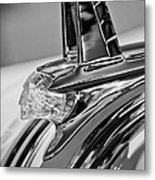 1953 Pontiac Hood Ornament 4 Metal Print by Jill Reger
