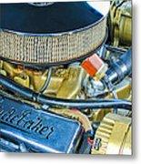 1953 Studebaker Champion Starliner Engine Metal Print