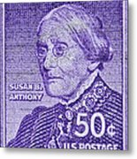 1954-1961 Susan B. Anthony Stamp Metal Print